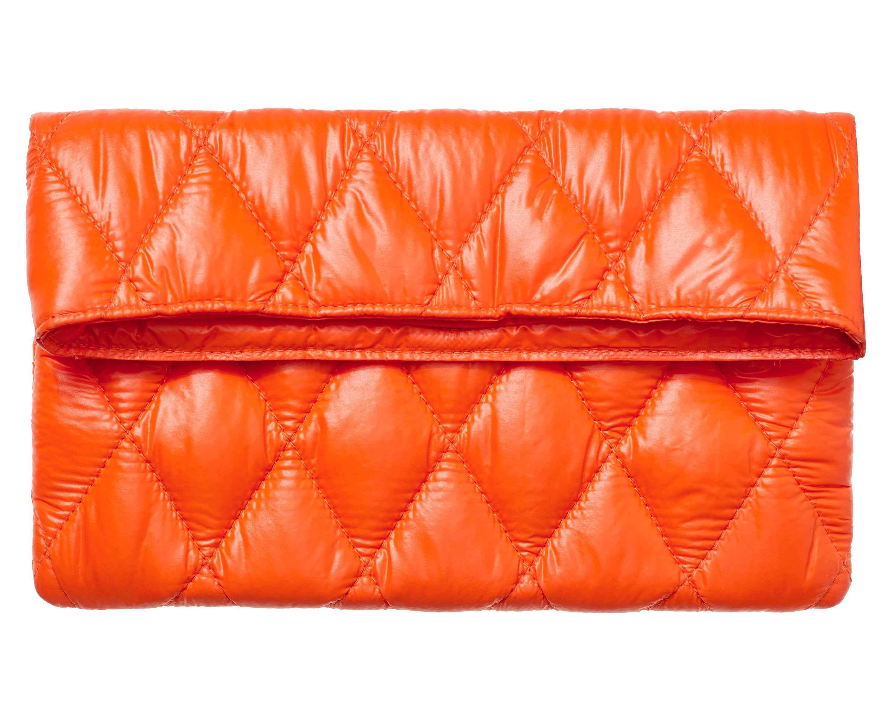 BrasiBrasi_Clutch&Quilt_Orange